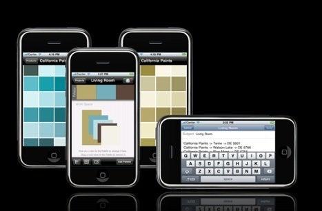 iPhone PaintSwatches