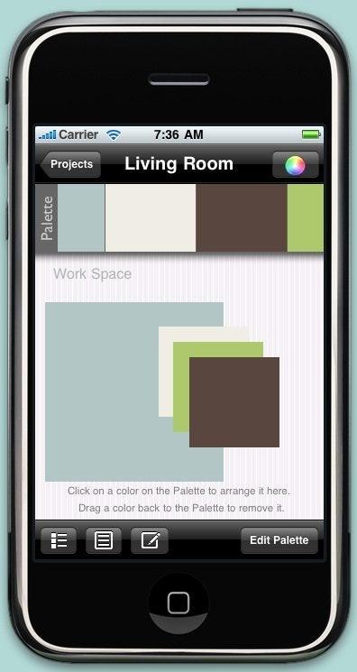 PaintSwatches iPhone