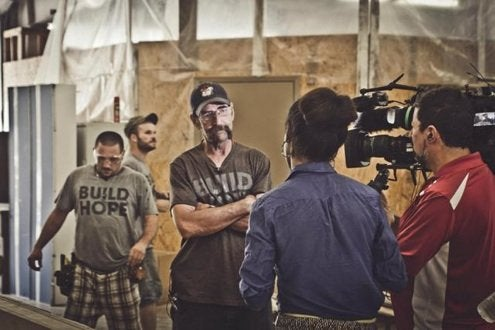 Lamon Luther, TC, CNN filming