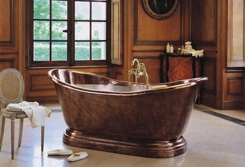 StyleHive.com-Herbeau-Medicis-Weathered-Copper-Bathtub