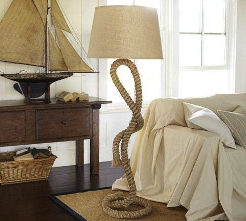 Rope Floor Lamp
