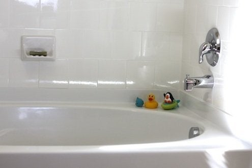 Natural Home Cleaning - Tub