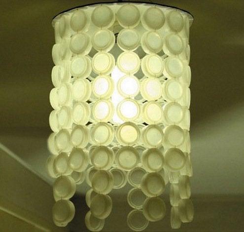 Bottle Caps DIY - Lampshade