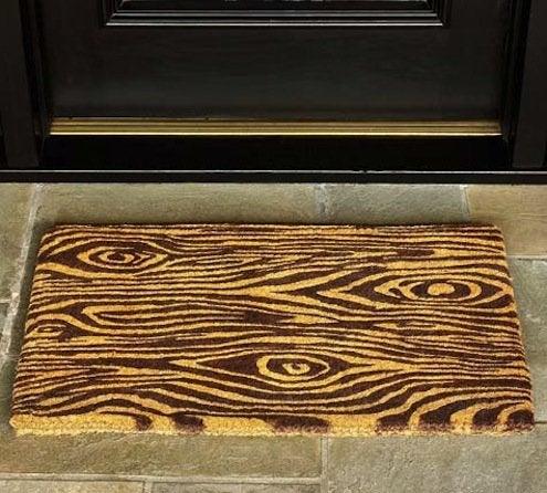 Faux Bois Doormat