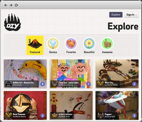 DIY.org for Kids