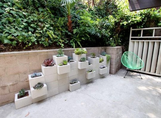 DIY with Cinder Blocks