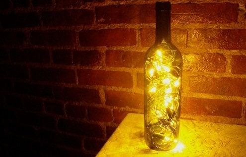 Wine Bottle DIY - Lantern