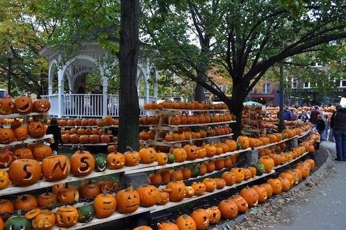 Pumpkin Festivals - Town Square in Keene, NH