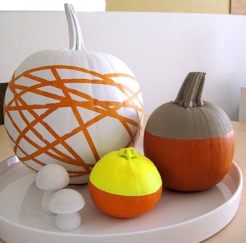 Pumpkin Colorblock