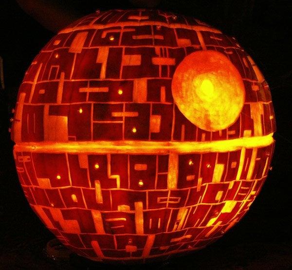 Pumpkin Death Star