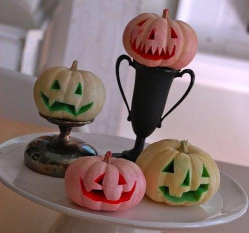 Pumpkin Dip Dyed