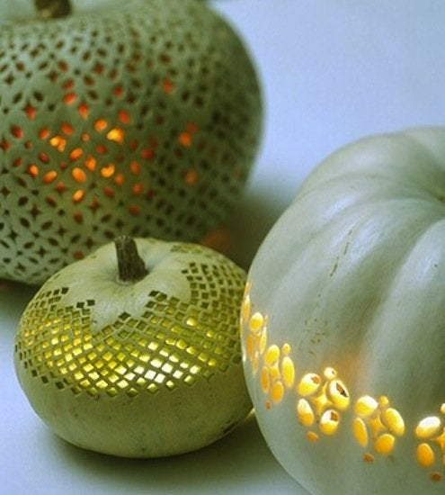Pumpkin Lace Pattern