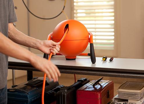 RoboReel Great Stuff - Retractable Power Cord