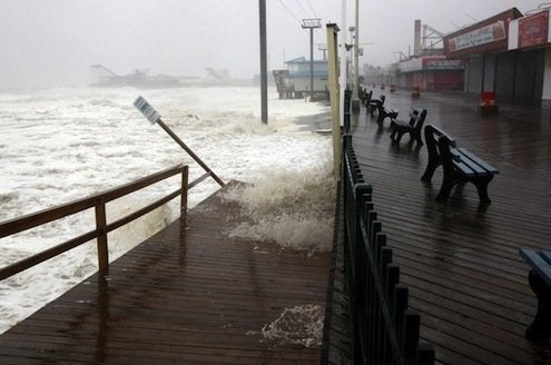 Waiting for Hurricane Sandy