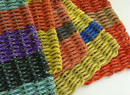Outdoor Doormats - Colorblock Marine