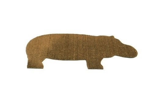 Outdoor Doormats - Hippo