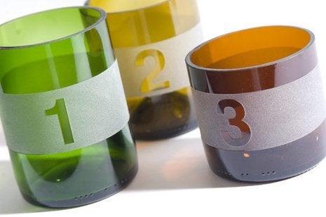 Wine Bottle DIY - Drinking Glasses