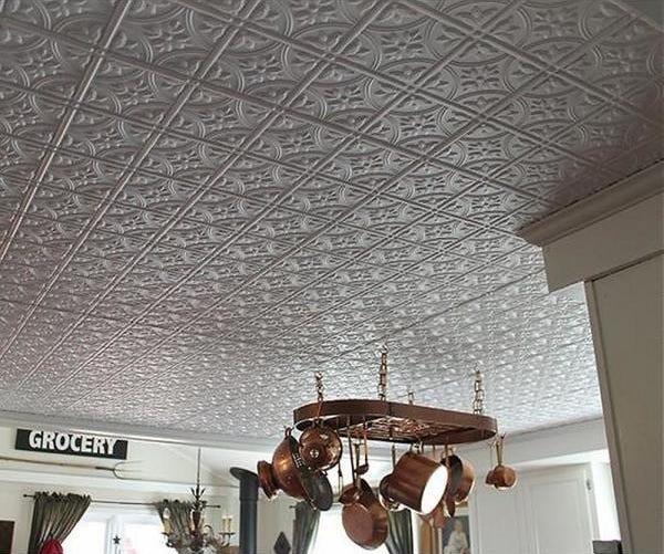 Tin Ceilings - Kitchen