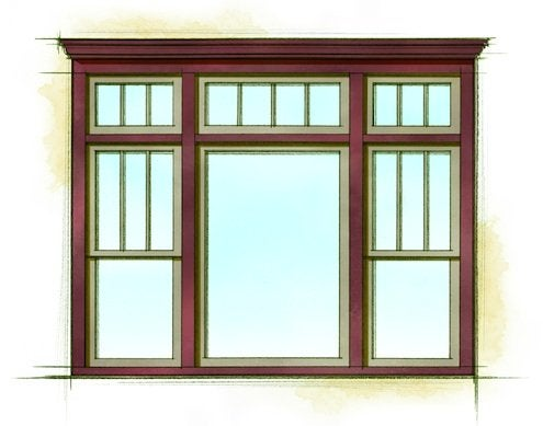 Home Style Pattern Books - Window Finish