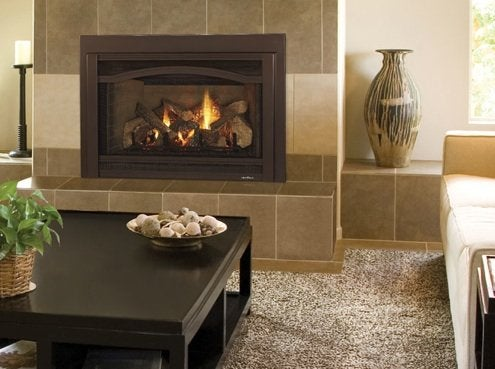 Gas Fireplaces 101 - Grand I35 Fireplace Insert from Heat & Glo