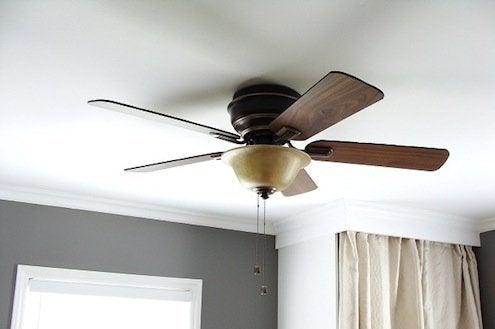 Ceiling Fans in Winter
