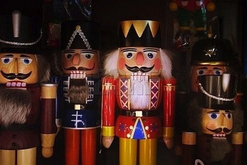 assorted traditional nutcrackers