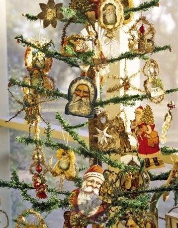 Feather Christmas Trees - Vintage German