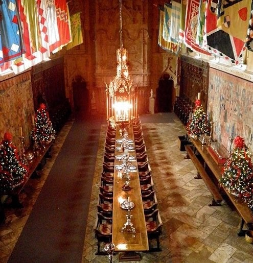 Holiday House Tours - Hearst Castle