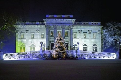 holiday house tours - Newport mansions