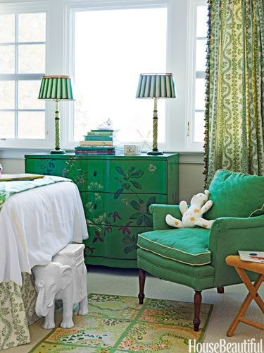 Emerald Green - Room Decor