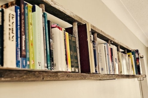 DIY Shelves - Ladder