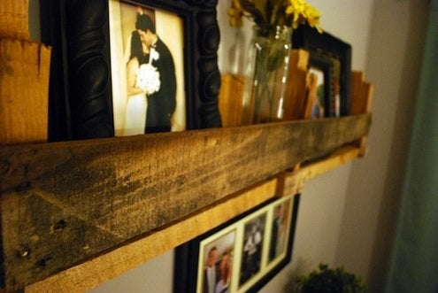 DIY Shelves - Shipping Pallets