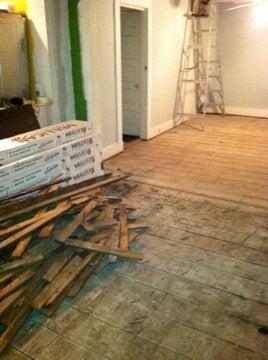 Refinish or Replace Wood Floor - Original Flooring
