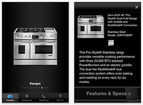 Jenn-Air DesignVision App