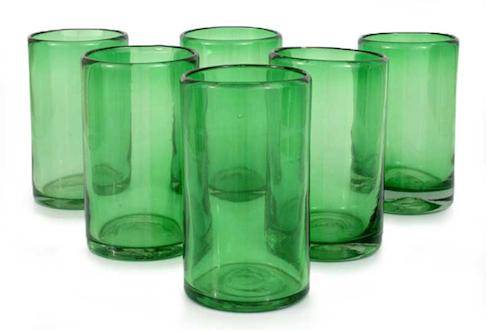 Emerald Green - Glasses