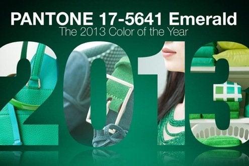 Emerald Green - Pantone 2013