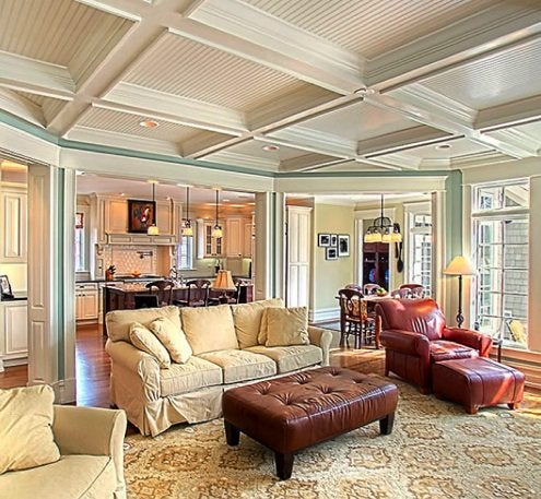 Interior Architectural Details - Ceiling Coffers