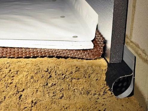 Insulating Crawl Space - Encapsulation