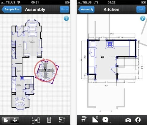 Home Remodeling Apps - Productivity - MagicPlan