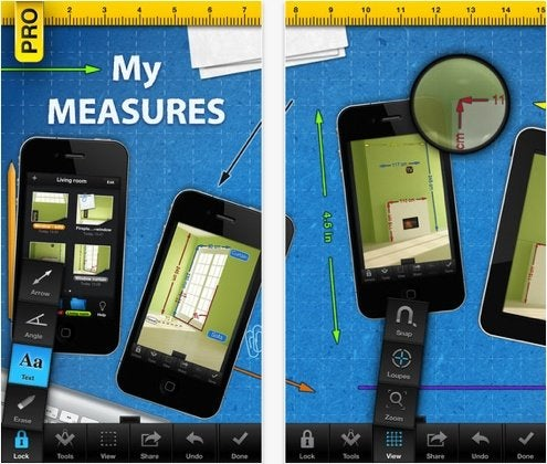 Home Remodeling Apps - Productivity - My Measures Pro