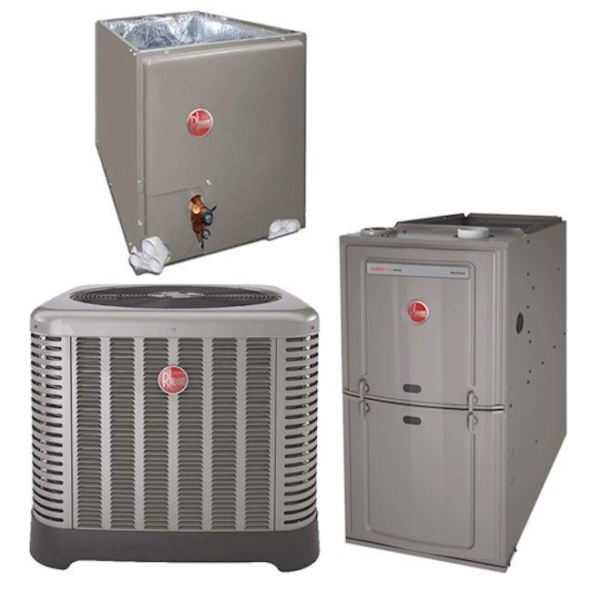 Hybrid HVAC Systems
