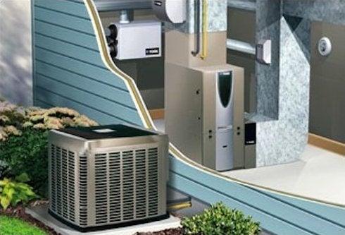Hybrid HVAC System - Diagram