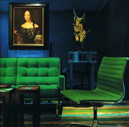 Emerald Green - Sitting Furniture