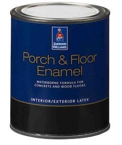 Painting Masonry - Latex Enamel Paint