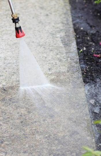 How to Clean Concrete - Pressure Washing Concrete