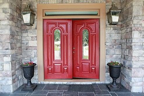 Red Decor - Front Door