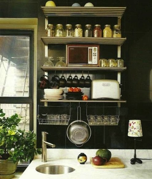 How to Organize Kitchen Cabinets - Clear the Counter