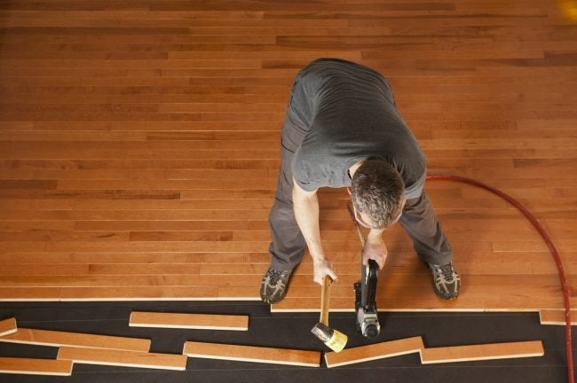 Installation of Prefinished vs. Unfinished Hardwood Flooring