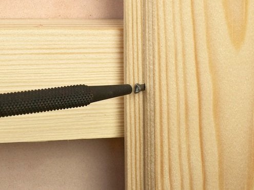 How to Install Paneling - Nail Set