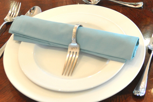 Silverware DIY - Napkin Rings